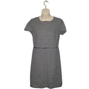 OLD NAVY striped mini dress medium